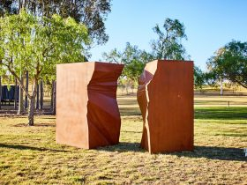 Sculpture Walk at Western Sydney University Campbelltown Campus