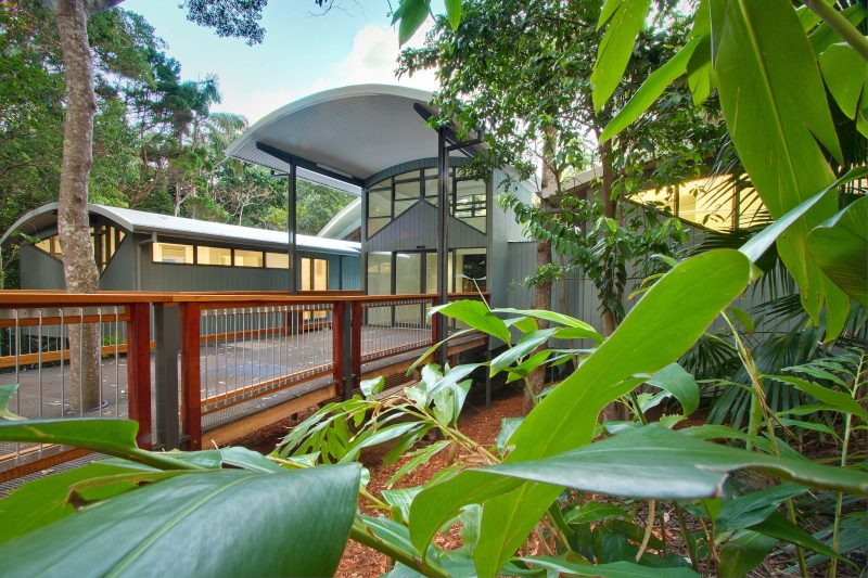Visit our centre 363 days a year. The gateway to the amazing 1.3 km rainforest boardwalk.