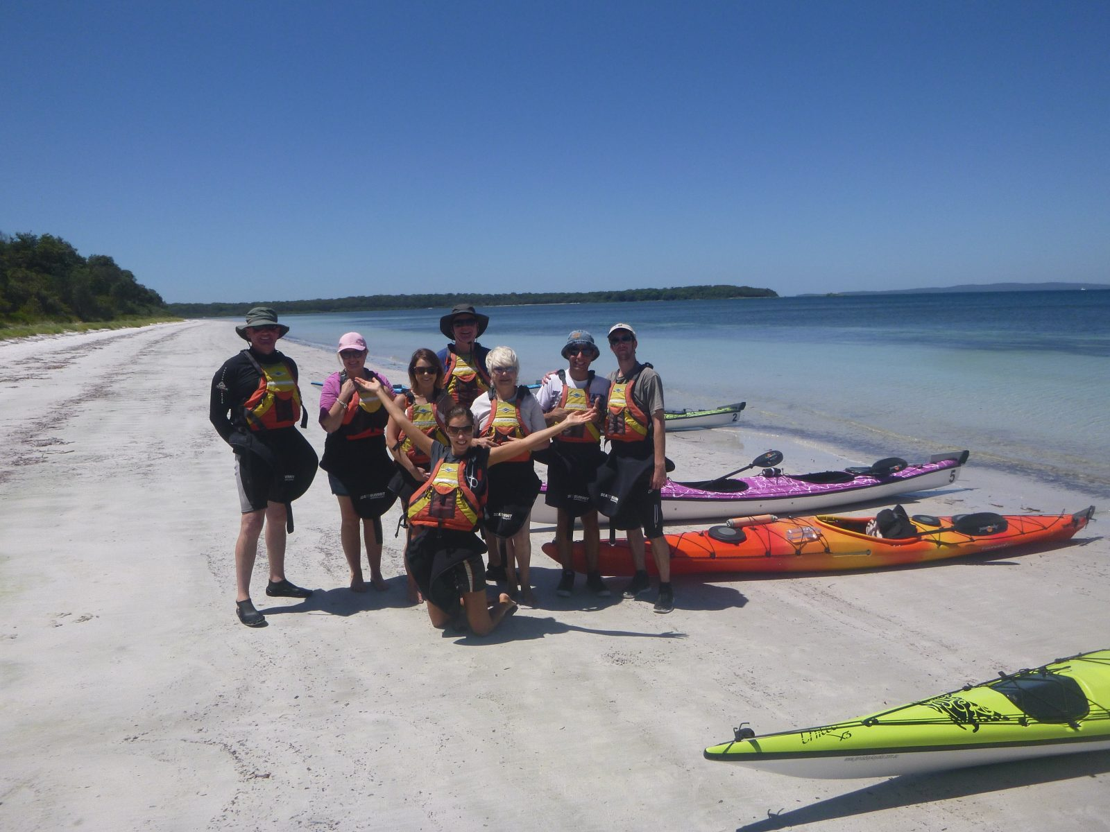 Sea Kayak Jervis Bay