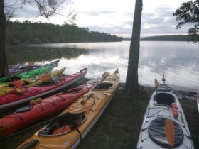 A beautiful day our enjoying Jervis Bay by Kayak and camping overnight