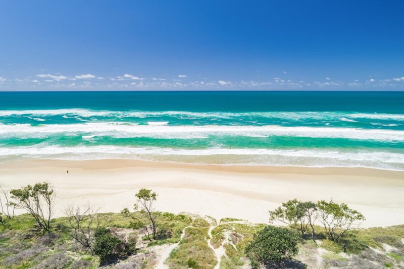 Sea Salt - Byron Bay - Aerial Tallows Beach