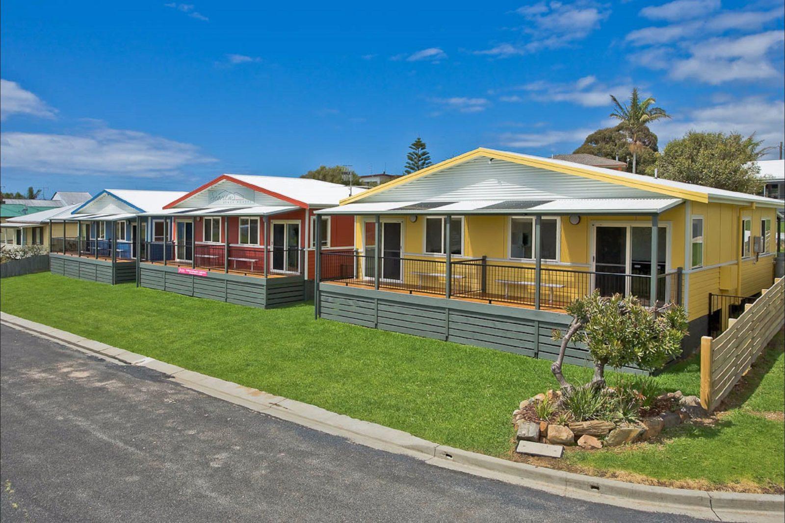 Seaview Beach Houses - 2 bedroom beach houses
