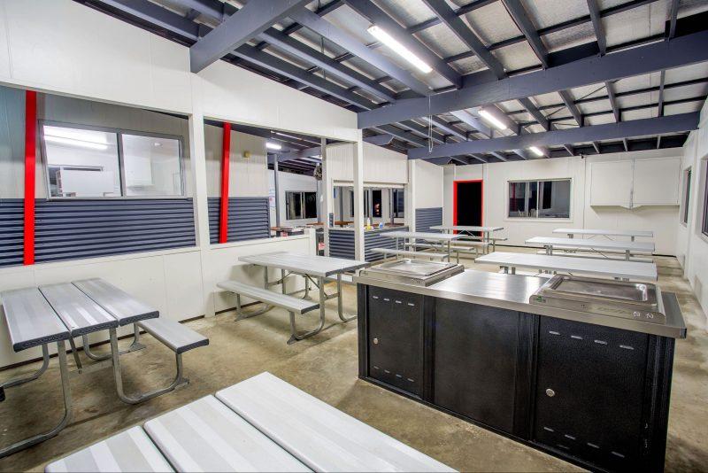 Large Modern Camp Kitchen