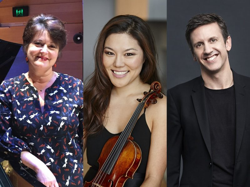 Kathryn Selby, Susie Park and Julian Smiles playing in the upcoming tour The Game Changers