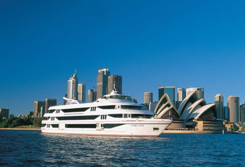 Cruise aboard MV Sydney 2000