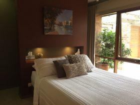 Serenity studio bedroom