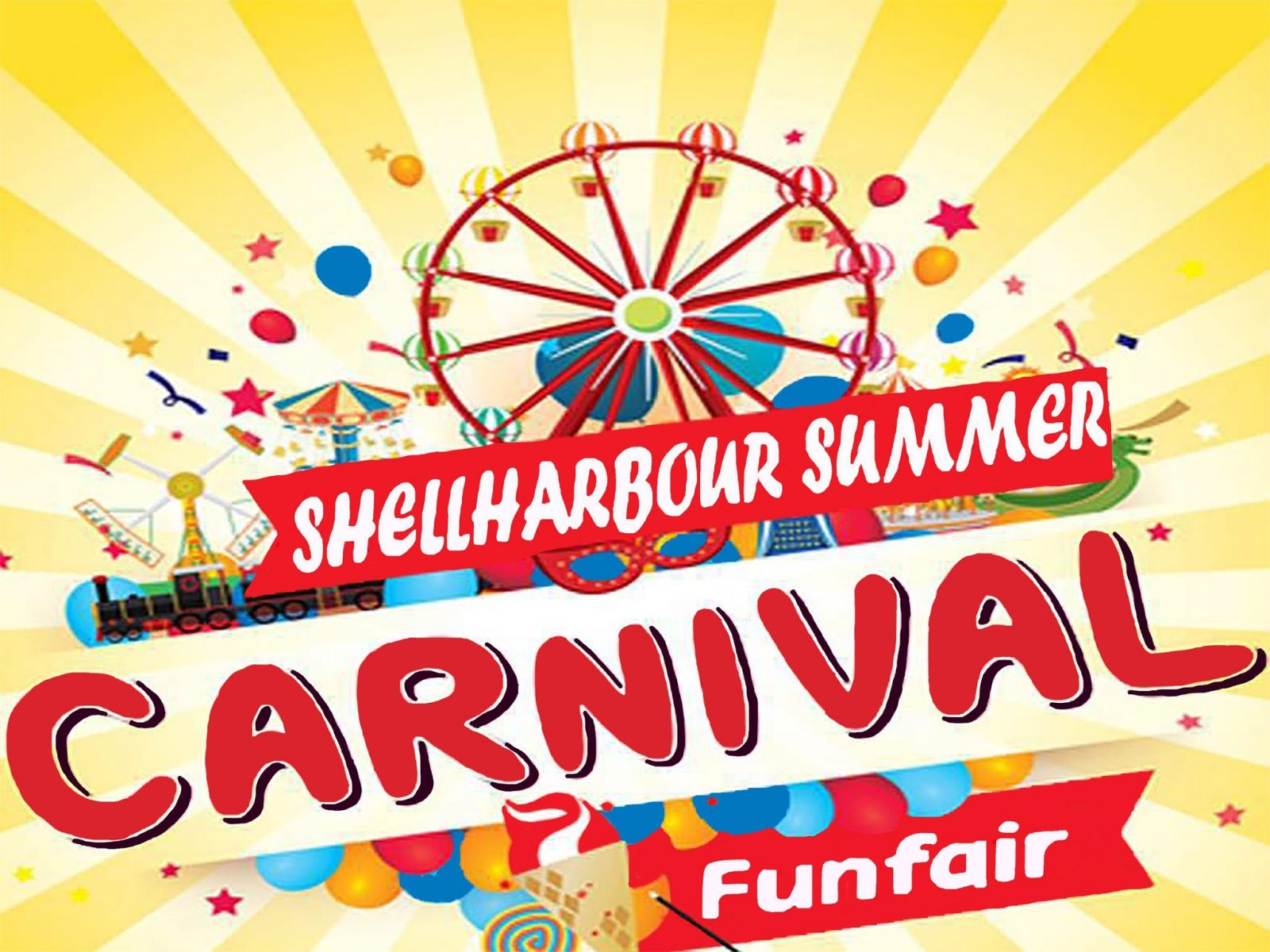 Shellharbour Summer Carnival - Pioneer Park - 26/12/19 to 19/01/20 - Open nightly from 6.00pm