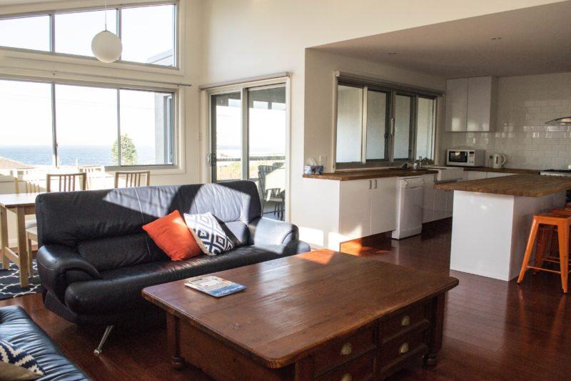 Lounge Area - Shellharbour Village Ocean View Apartment