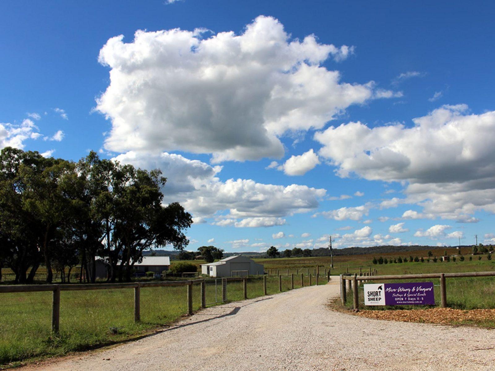 Entrance to SHORT SHEEP