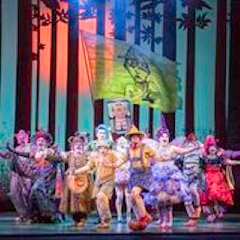 Shrek the Musical on Stage