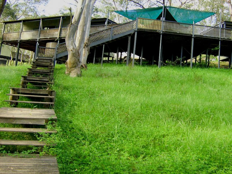Six foot track lodge