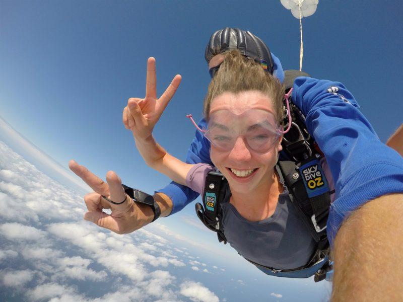 Parachuting Over Dubbo NSW Australia
