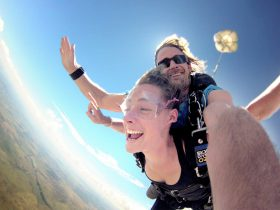 Tandem skydive with Skydive Oz Outback Tour 2019