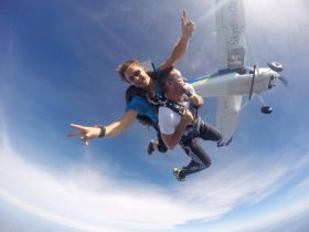 Skydive Over Merimbula NSW Australia