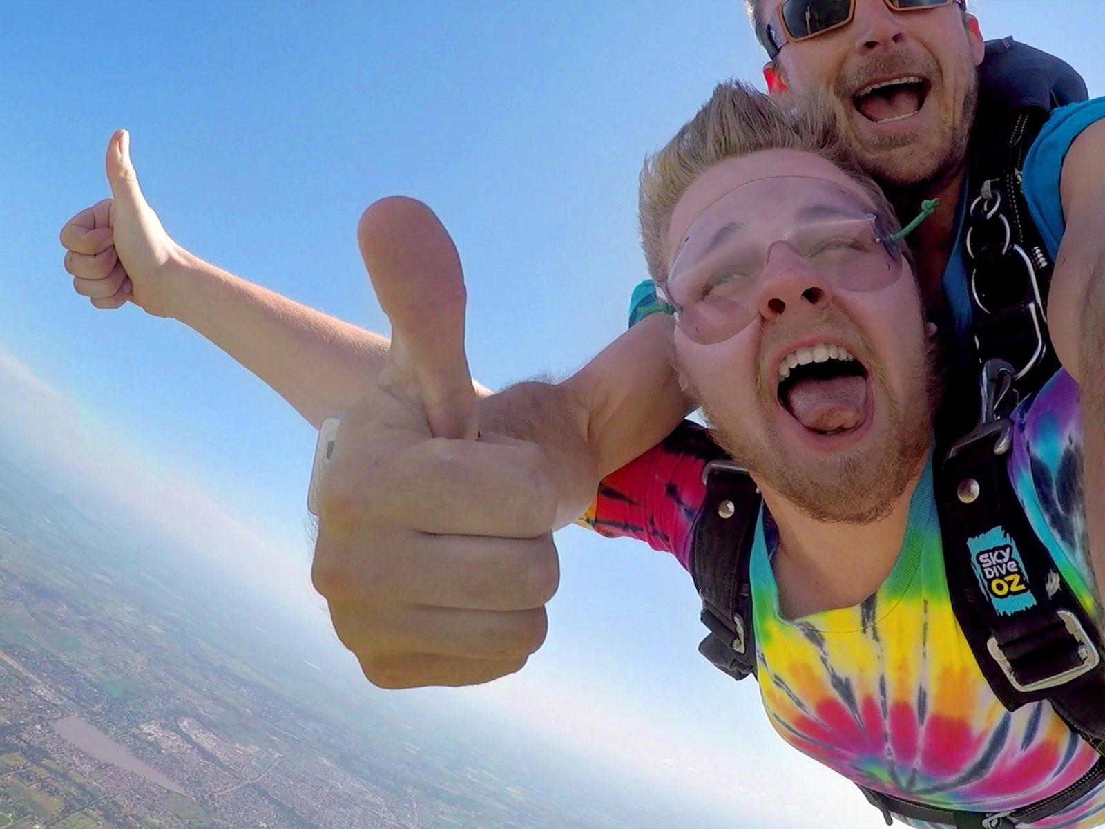 Skydive Over Wagga NSW Australia