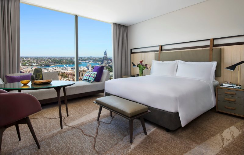 Sofitel Sydney Darling Harbour Bedroom Image