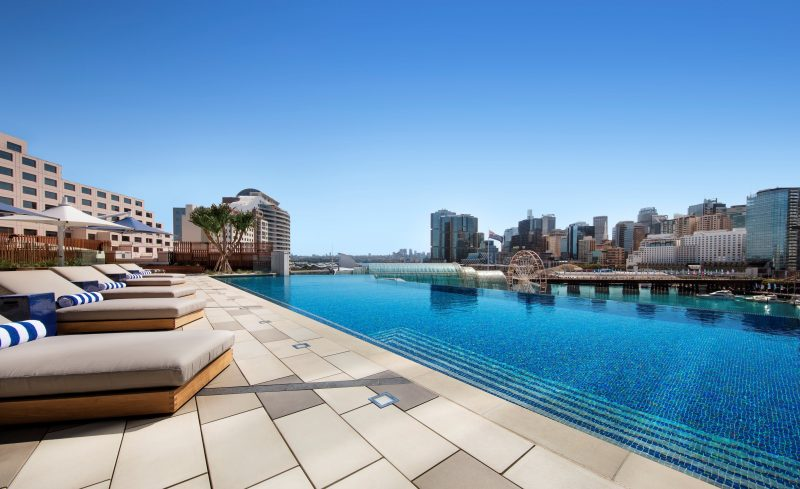 Sofitel Sydney Darling Harbour Le Rivage Pool Bar