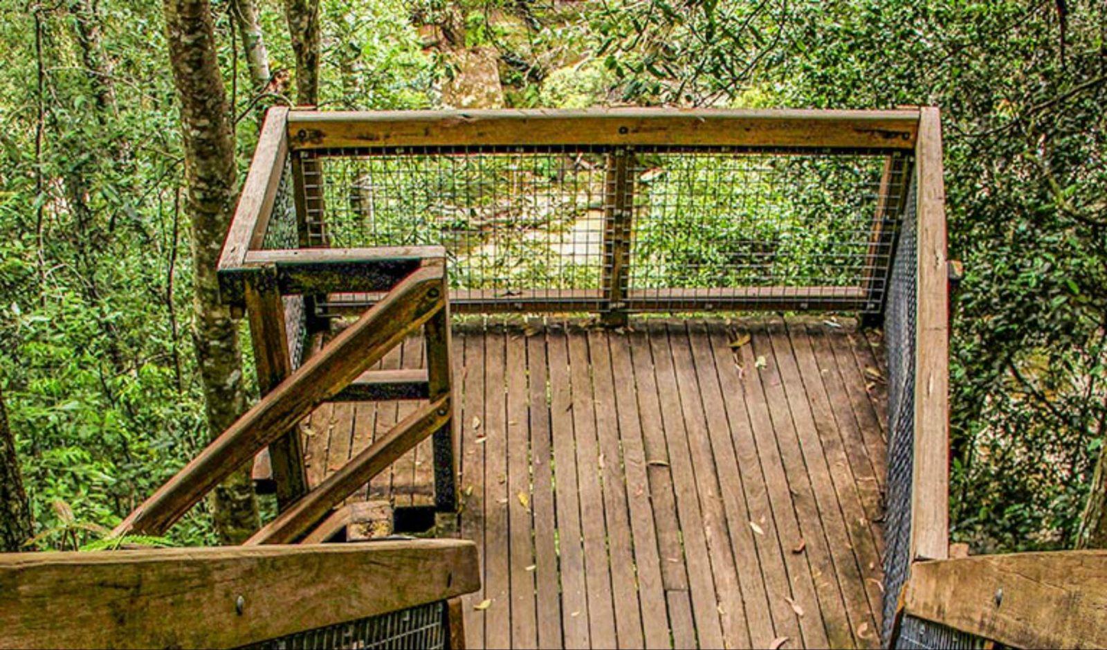 Somersby Falls walking track