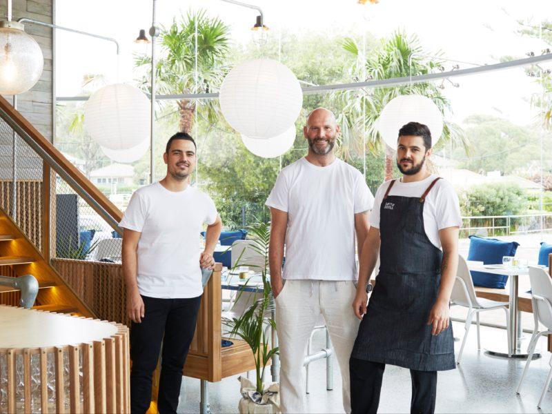 Alessandro Pavoni, Victor Moya and Mattia Rossi