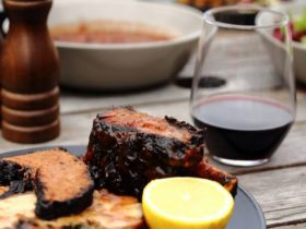 Low and Slow Smoked Beef Short Rib