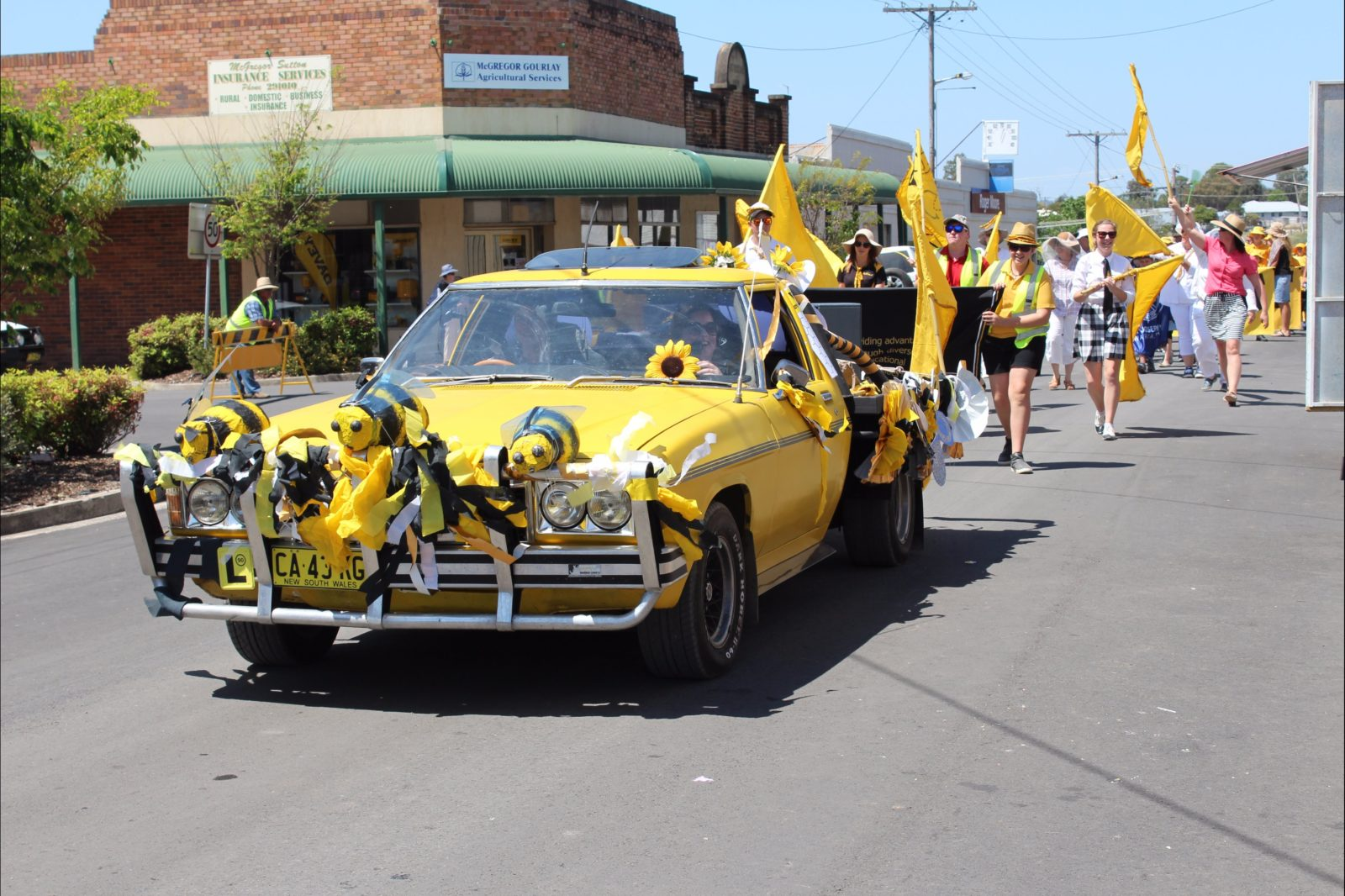 The annual Warialda Honey Festival