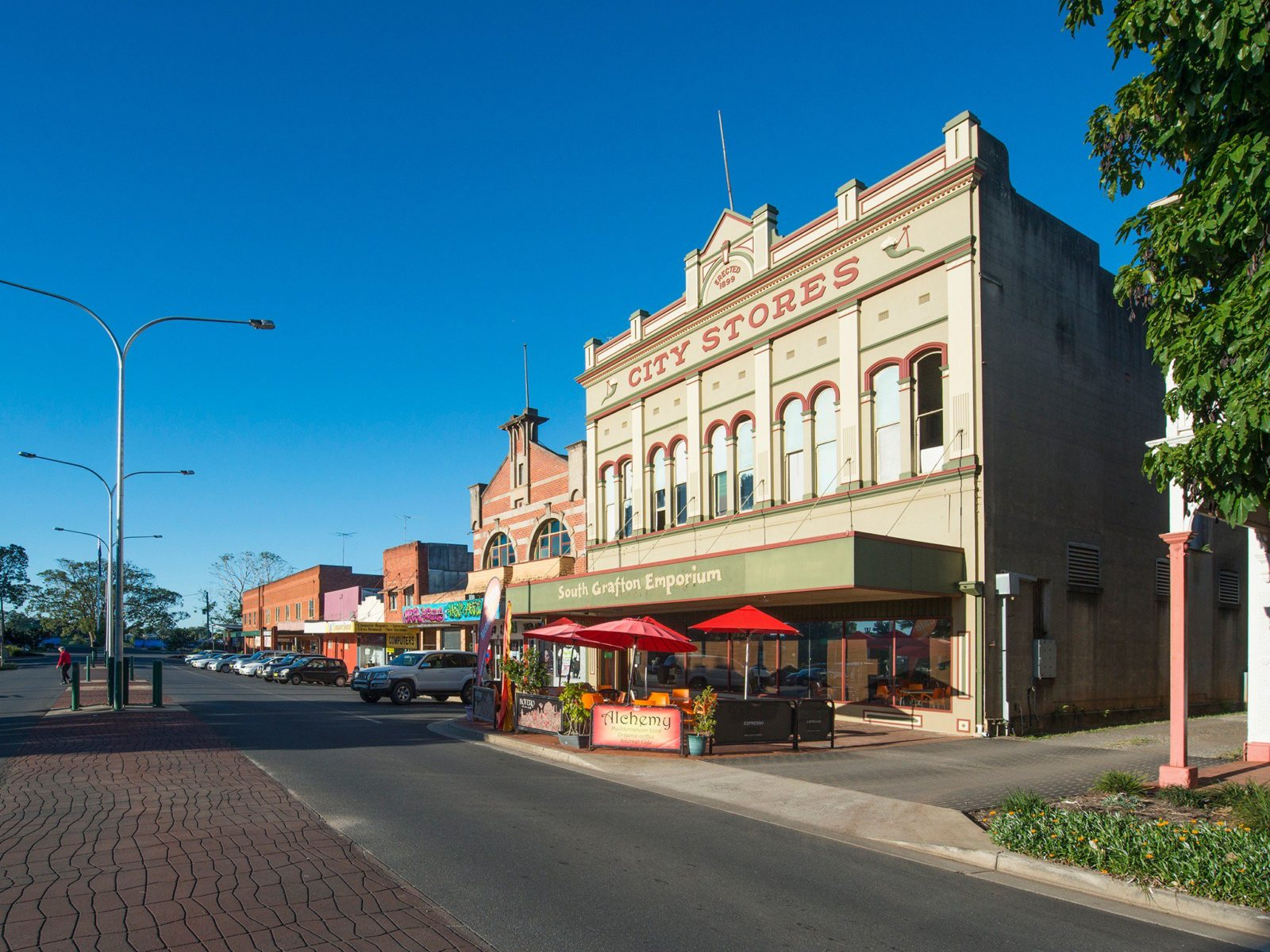 South Grafton city scape