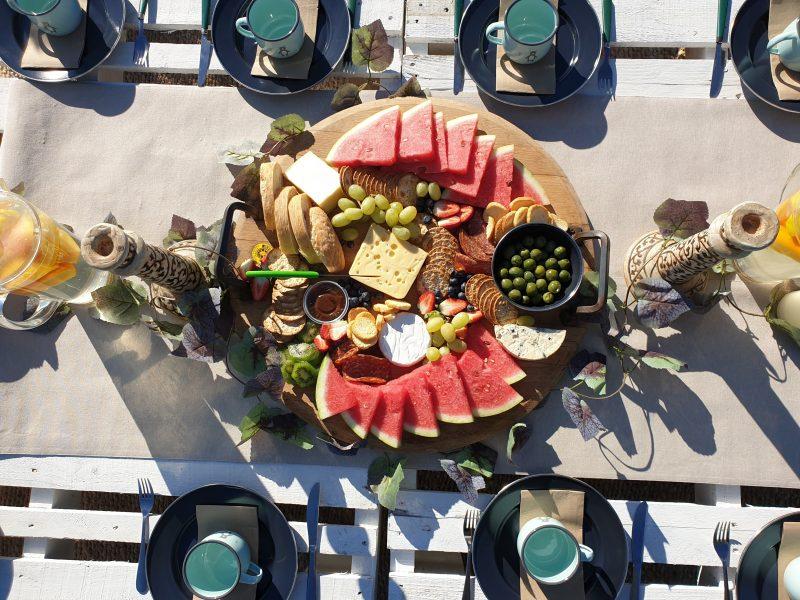 Delicious Produce Platter
