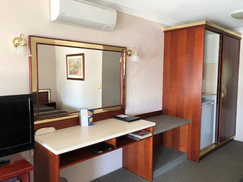 Inside of Motel