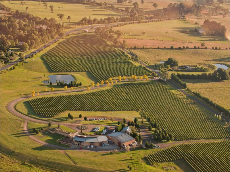 Southern Highland Wines Aerial