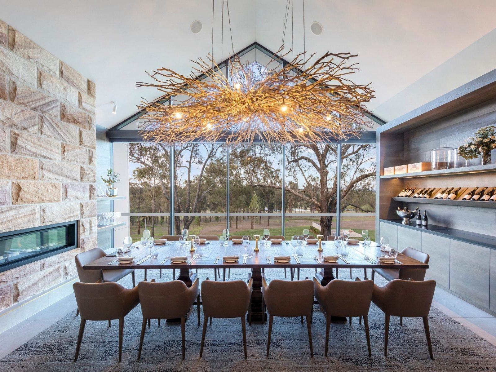 Eremo's Private Dining Room
