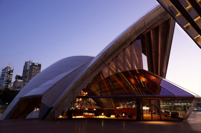 Bennelong within Sydney Opera House