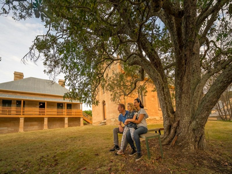 the perfect spot to immerse yourself in Hartley Historic Site's colonial past