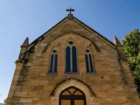 St Bernard's Church, Hartley Historic Site. Photo: John Spencer