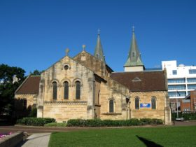 View of St. John's Cathedral Parramatta