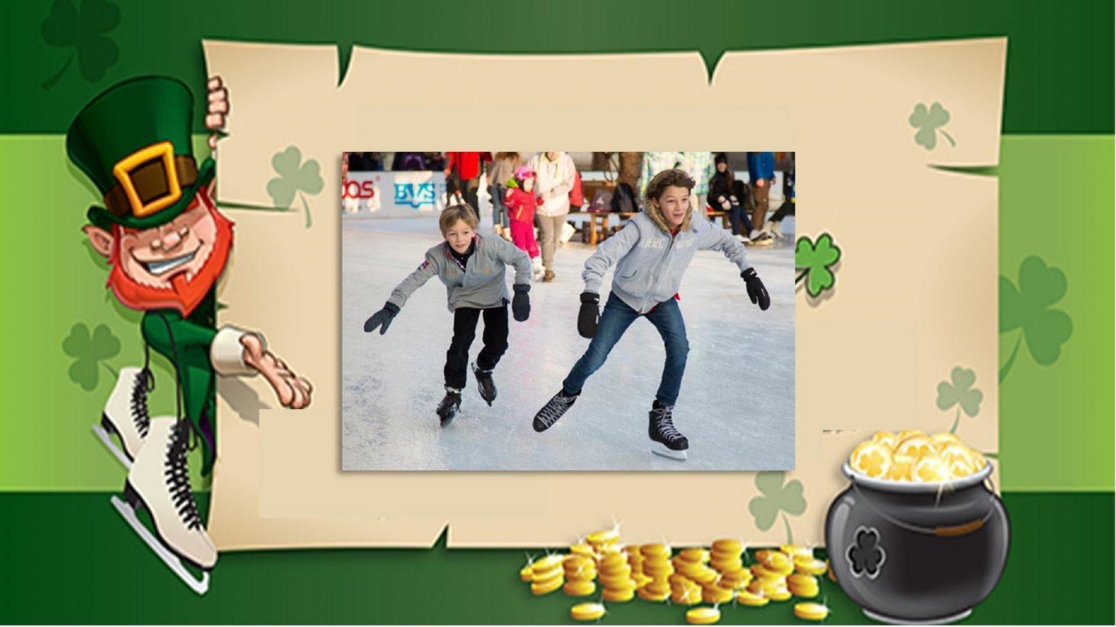 Skate with Ice Zoo Leprechaun