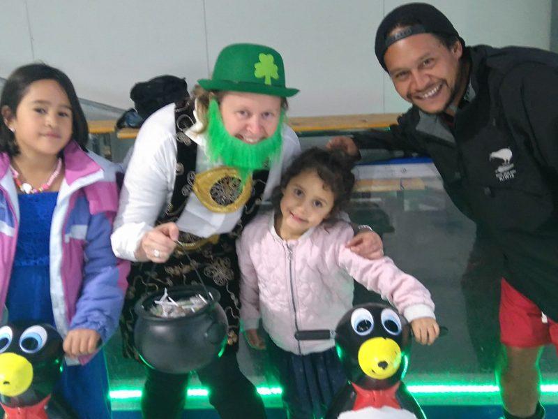 Ice Zoo's St Patricks Day Leprechaun