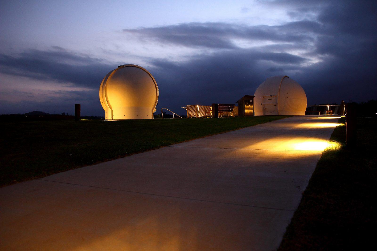 Observatory after sunset