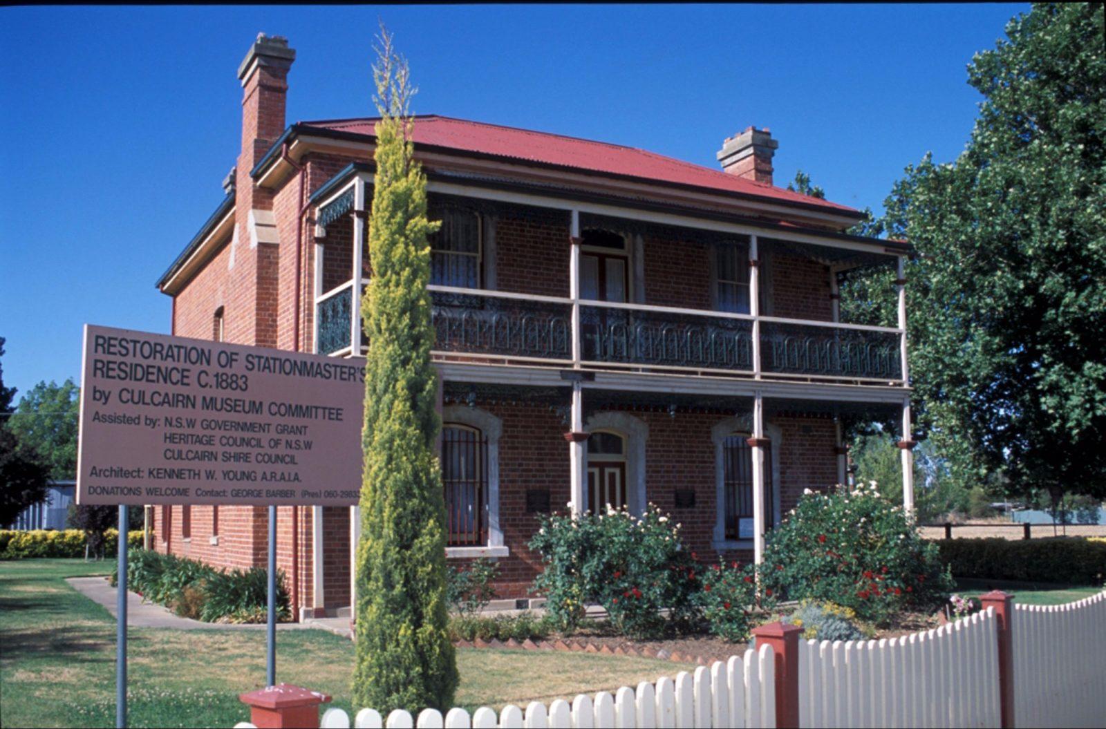 Station House Museum Culcairn