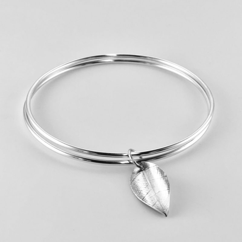 Handcrafted sterling silver bangle