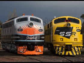 Image does not show locomotives that will be used on this tour*