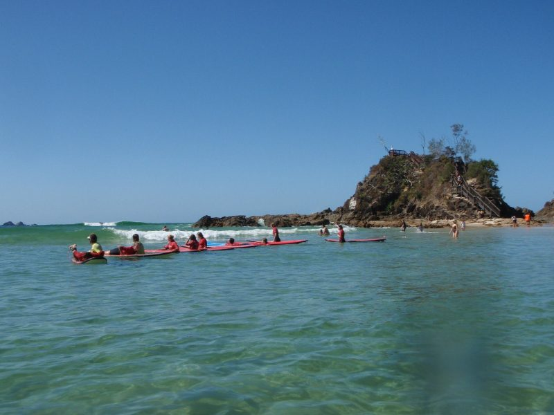 Surf The Pass in Byron Bay