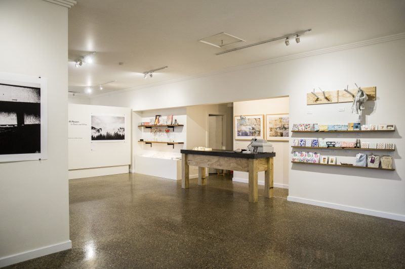 Shop and Gallery space