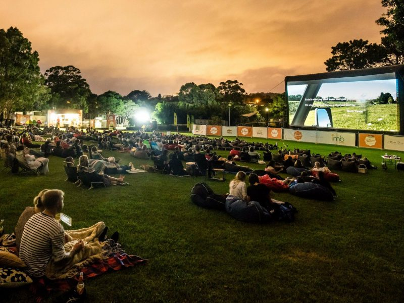 Sunset Outdoor Cinema Wollongong