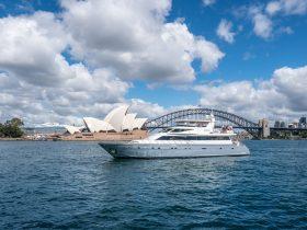 Sydney Harbour Superyacht Cruising
