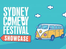 Combi van image for Sydney Comedy Festival Showcase