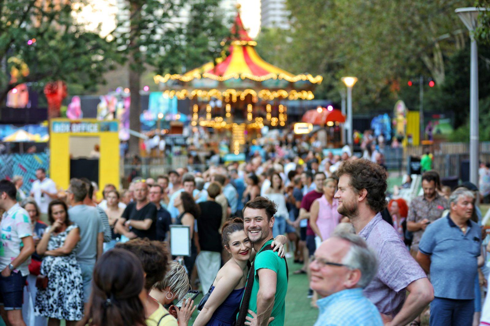 Sydney Festival at Hyde Park