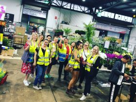 Sydney Flower Market Tour with Sydney Flower School on third Saturday of every month
