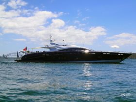 Have fun a board Quantum, one of the most luxurious super yachts on Sydney Harbour.