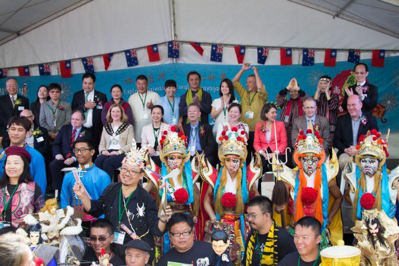 Sydney Taiwan Festival 2017 group photo