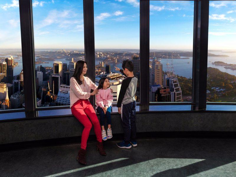 Sydney Tower Eye inside attraction